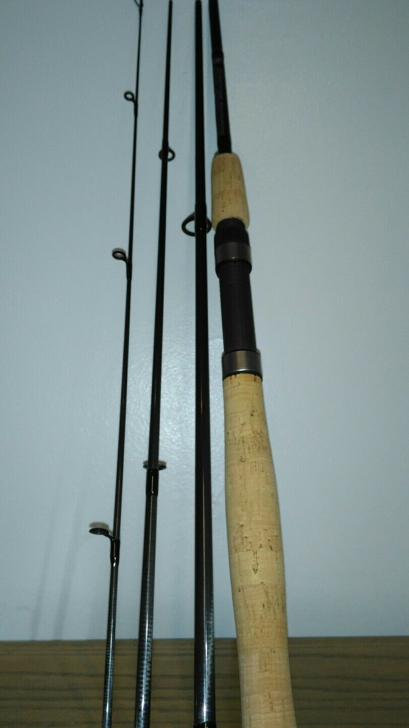 Rainshadow 6' 6' 6' Lt. VIAJE Spinning Rod, 4pc. 3502ad