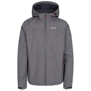 Trespass-Mens-DLX-Softshell-Jacket-Waterproof-Hiking-Coat-with-Hood-XXS-XXXL