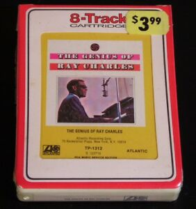 8-Track-The-Genius-Of-Ray-Charles-1959-SEALED