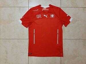 Switzerland Home football shirt 2014/2015 Jersey M Puma Soccer Camiseta Swiss