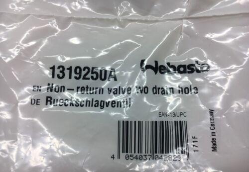 Webasto 1319250A Rückschlagventil D18 L=90 non-return valve NEU