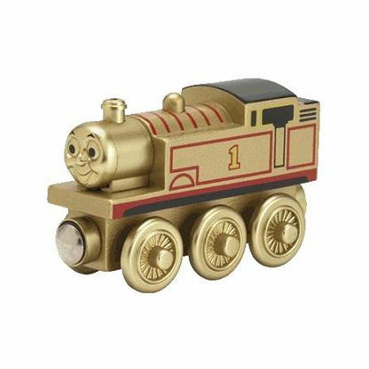 Golden Thomas The Tank Engine Holzen Gold 60 Years Anniversary Engine - BNIB