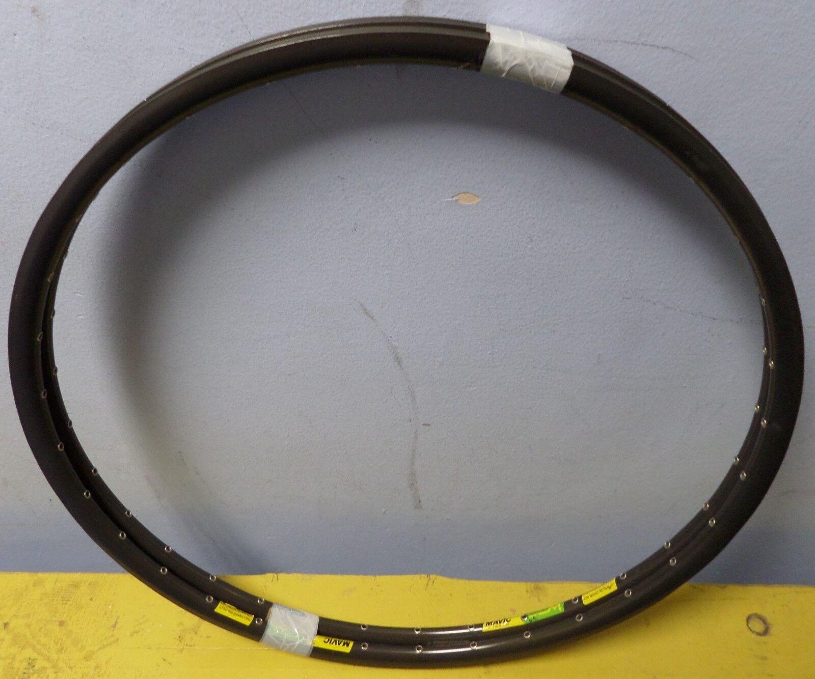 Vintage nuevo viejo stock Tubular Rimset Mavic Mach 2 CD2 650C 32h