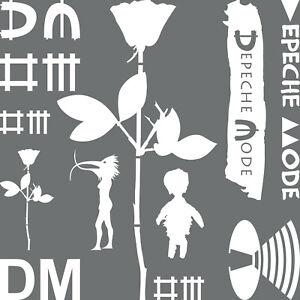 Dm Mega Set Weiß Depeche Mode Autoaufkleber Auto Aufkleber