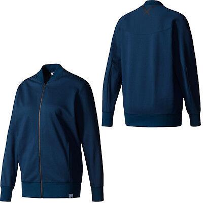 289259f4b30b Adidas Originals XBYO Womens Track Top Jacket Full Zip Blue CE7629 EE27