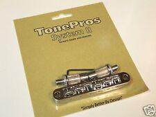 TONEPROS TPFR-C TUNEOMATIC BRIDGE ROLLER SADDLES IN CHROME FOR EPIPHONE BIGSBY