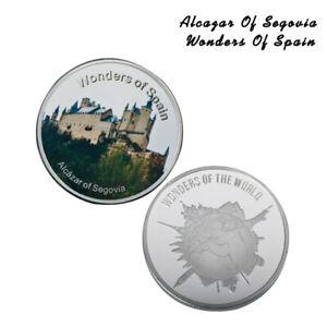 Moneda-de-plata-conmemorativa-del-Alcazar-de-Segovia-de-Espana-para-la-coleccion