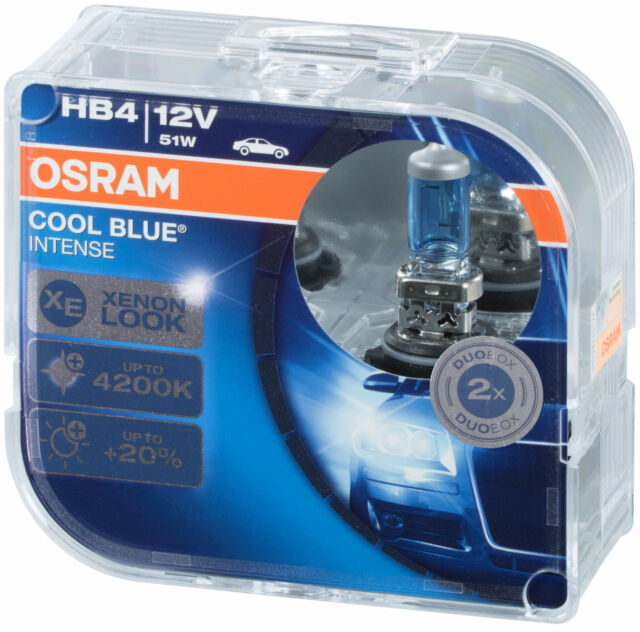 Osram Cool Blue Intense HB4 9006CBI-HCB Autolampe Duobox