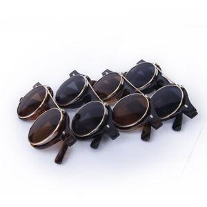 Cosplay-Lunettes-De-Soleil-Goggles-Steampunk-Goth-Ancien-Rustique-Punk-Glasses