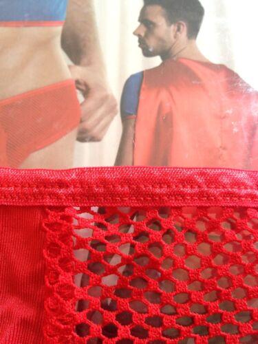 SIZZLING HOT Supereroe Addio al Celibato Divertente Costume /& Rosso balza Undies