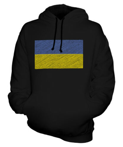 À Ukraine Sweat Drapeau Haut Na Unisexe Capuche Griffonnage Ukra Cadeau tqqRECwB