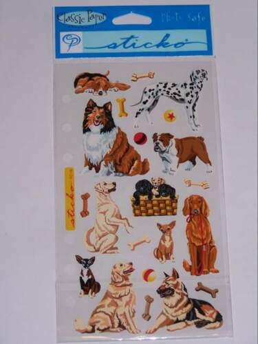 Stickopotamus Sticko Classic Stickers DOG DAZE