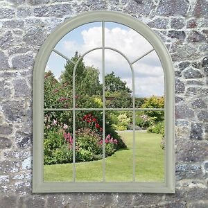 Charmant Image Is Loading Lancaster Window Garden Mirror In Green By Suntime