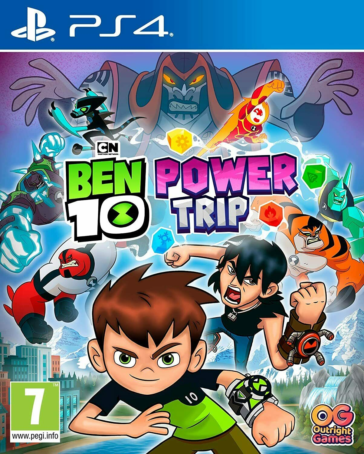 Ben 10 Power Trip Sony Playstation 4 PS4 Game