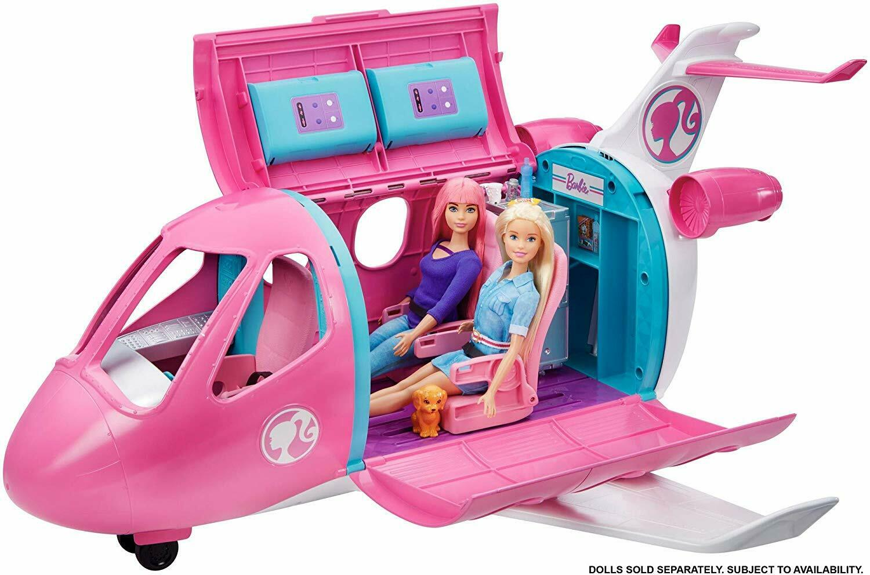 Barbie Dreamplane Traum Flugzeug 15 Teile Luxus Spielset & Zubehör