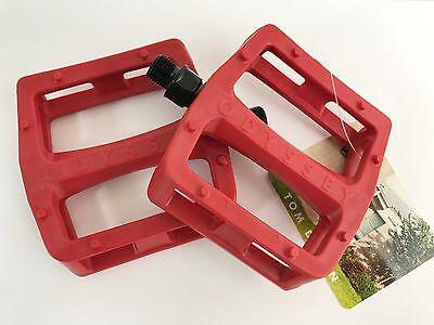BMX TOOTHPASTE ODYSSEY BMX GRANDSTAND PLASTIC PEDALS