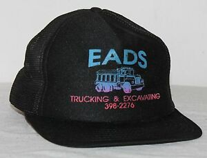 14eb7734a8a Image is loading EADS-Dump-Truck-Construction-Tool-Snapback-Mesh-Trucker-