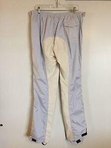 ALESSANDRO ALBANESE White Rain Pants Fullseat NWT Breeches I54 D48 Unisex 10