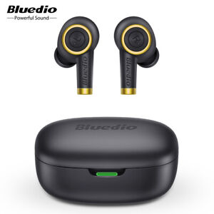 Bluedio Particle Bluetooth Earphone True Wireless Earbuds Waterproof Stereo Mic Ebay