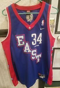 VTG NBA Nike Boston Celtics Paul Pierce 2004 East All Star Jersey ... f718fb029