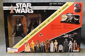 Star Wars The Black Series 40th Anniversary Legacy Pack Figures Hasbro
