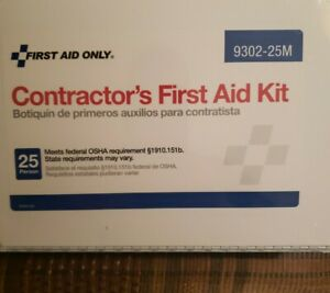 Contractor's First Aid Kit 178 piece