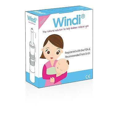 x10 Windi Baby Gas and Colic Reliever Catheter