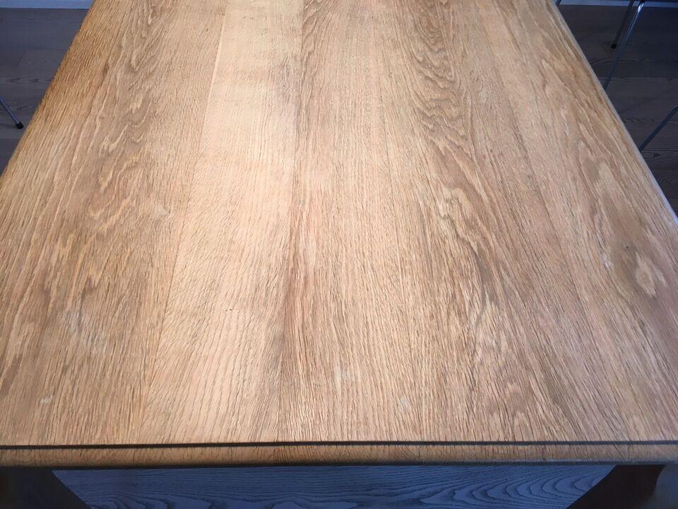 Spisebord, Eg, b: 90 l: 125