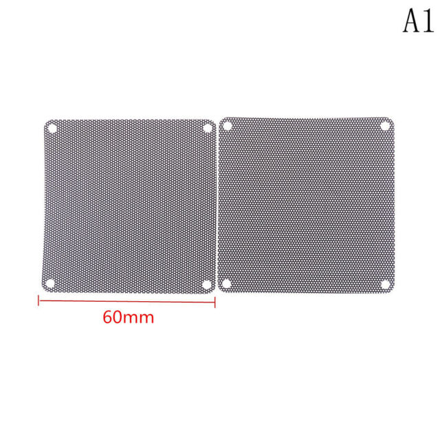 4pcs 60x60mm Computer Mesh Fan Cooler Dust Filter Dustproof Case Cover