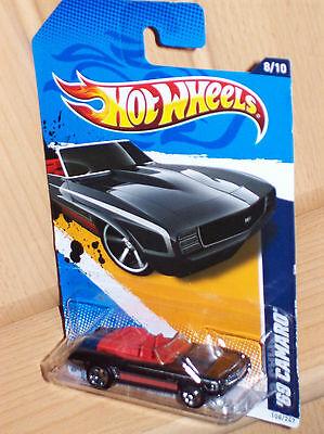 '69 Camaro Cabrio Nero Muscle Mania Hw Hot Wheels Modello Auto Hotweel Car Rod- A Tutti I Costi