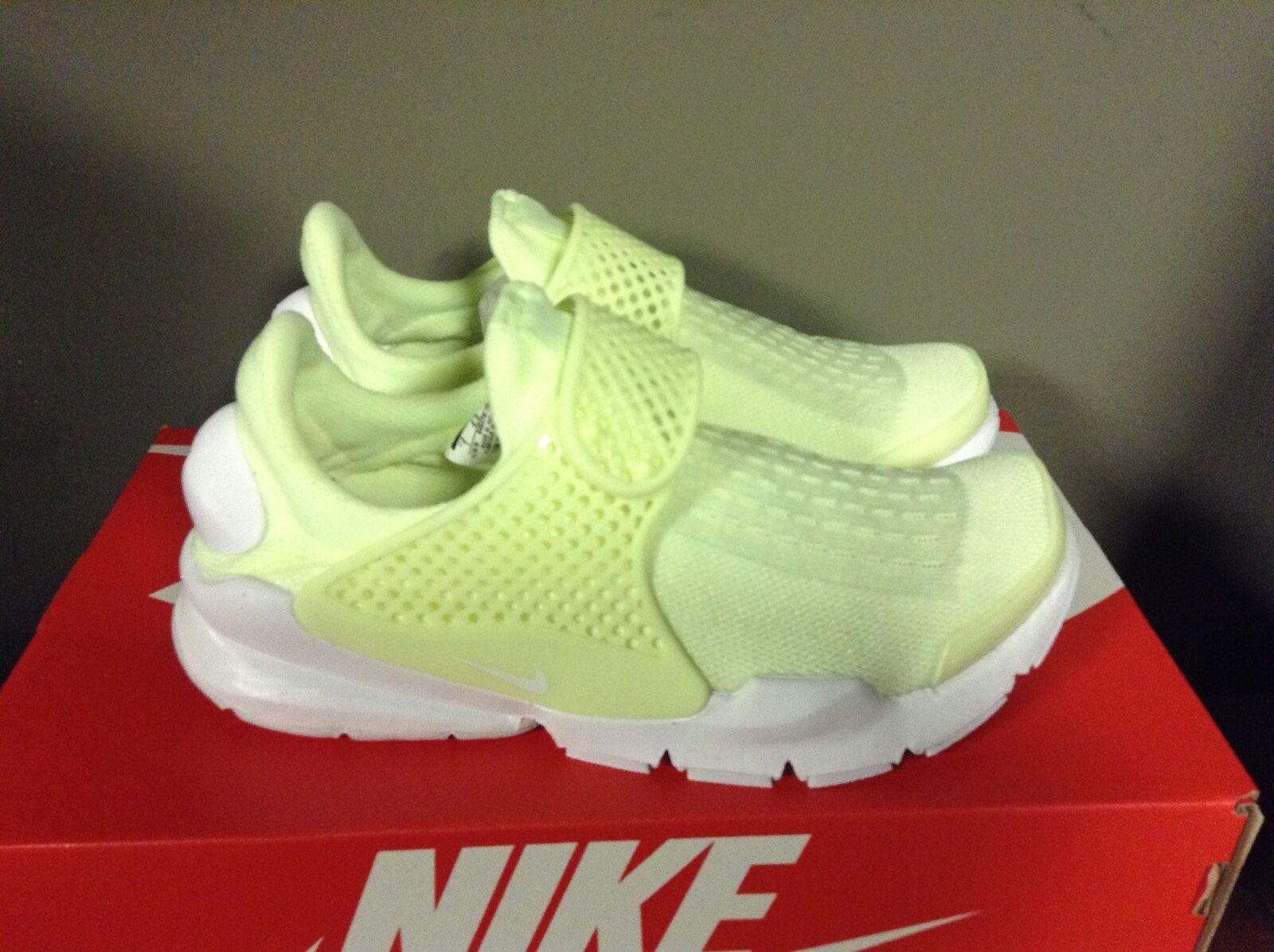 Nike WMNS Sock Dart Volt 848475-701 Barely Volt White Women's Brand discount