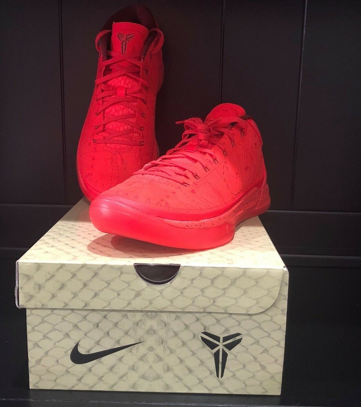 Nike Kobe A.D. Habablack Red Black Passion 922482 600 Mamba Mentality Men's Sizes