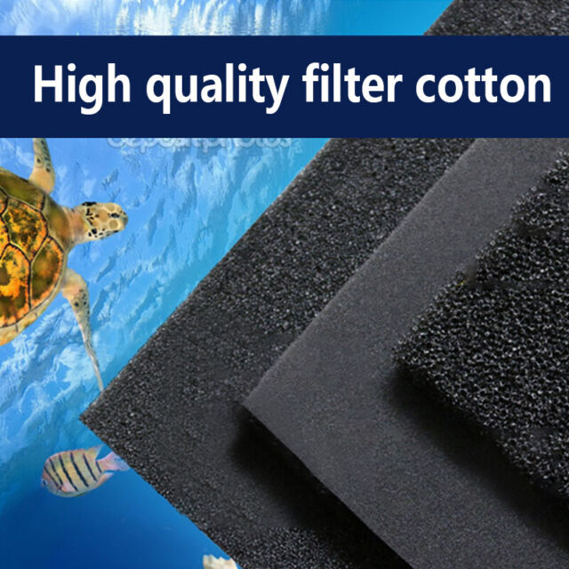 50*12*2cm Biochemical Cotton Filter Aquarium Filter Pad Foam Fish Tank Sponge