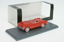 1:43 Chevrolet Corvette ( C1 ) - rot - Baujahr 1953 - Neo 45745