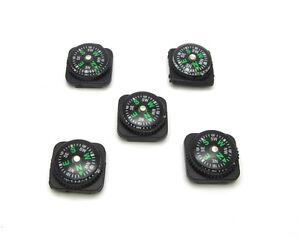 New-5PCS-Paracord-Compass-Bracelet-Outdoor-Watch-Hiking-Tool-Mini-Liquid