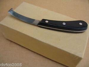 10-Hufmesser-mit-breiter-langer-Klinge-und-Kunststoffgriff-Sonderposten-No-315