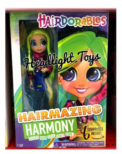 "Hairdorables HARMONY Hairmazing 10"" Fashion Doll Posable Bigger Hair Sealed Box"