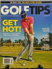 Golf Tips Aug Sept 2016 Get Hot Slice No More Yoga For Golfers FREE SHIPPING sb