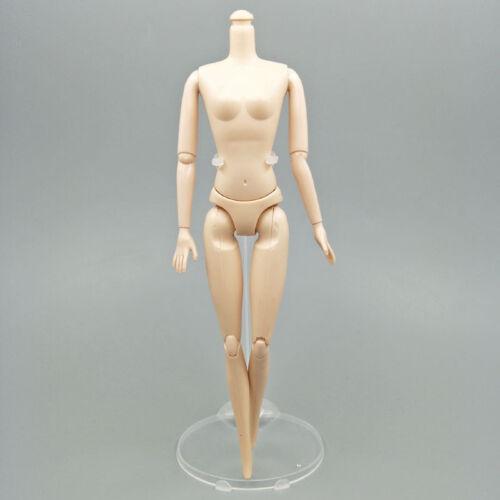 """10pcs Transparent Stand Support for 11.5/"""" Dolls 1//6 Prop Up Model Display Holder"""