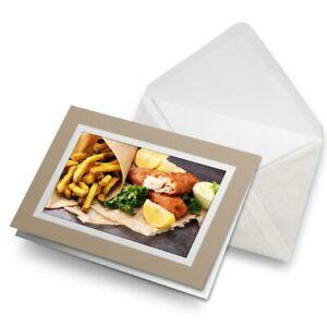 Greetings-Card-Biege-Tasty-Fish-Chips-Food-Takeaway-15887