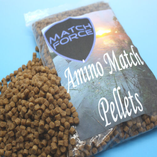 Match force amino match carp pellets feed high energy pro match food pellets