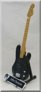 JOHN-DEACON-Miniature-Bass-QUEEN-w-guitar-pick