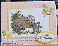 Birthday,thinking Of You Handmade Card Kit, Stampin' Up Simple Pleasures