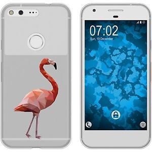 Case-fuer-Google-Pixel-Silikon-Huelle-Vektor-Tiere-M2-2-Schutzfolien
