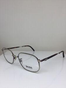 New-Classic-Vintage-Hugo-Boss-4706-Eyeglasses-C-71-Brushed-Gunmetal-w-Tortoise
