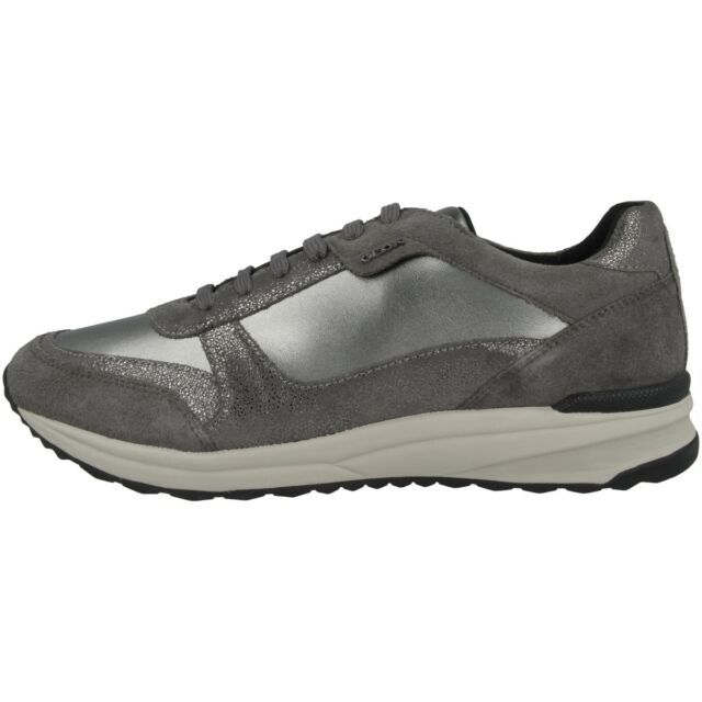 Geox D Airell C Scarpe Donna Sneaker Casual da Ginnastica Gun D642SC022AJC1G9F