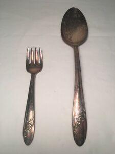 Oneida Community 1946 Tudor Plate Serving Spoon QUEEN BESS II