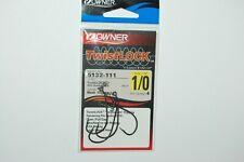 OWNER TwistLock W//CPS 1//0 Hooks 4 pcs//PK #5132-111 Black Chrome