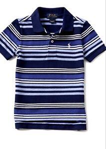 90daaf9b1 Image is loading NWT-Boys-Ralph-Lauren-Blue-Polo-Shirt-3-