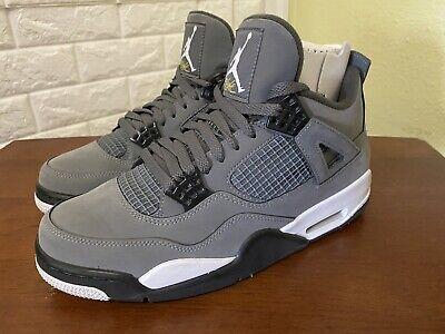 2019 Jordan 4 Cool Grey SIZE 9.5 (NO